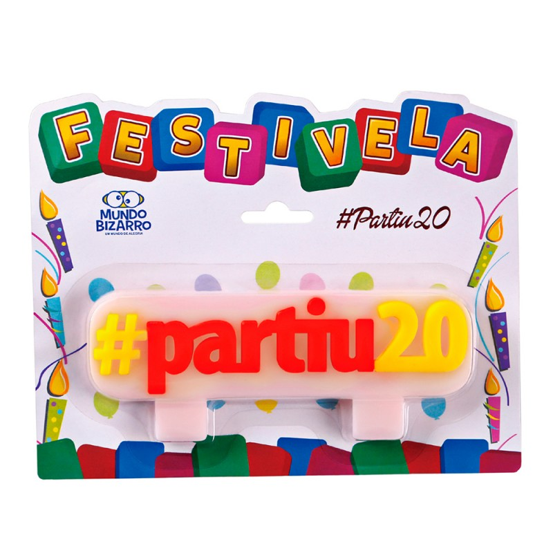 Vela Hashtag: #partiu20 • FESTIVELA