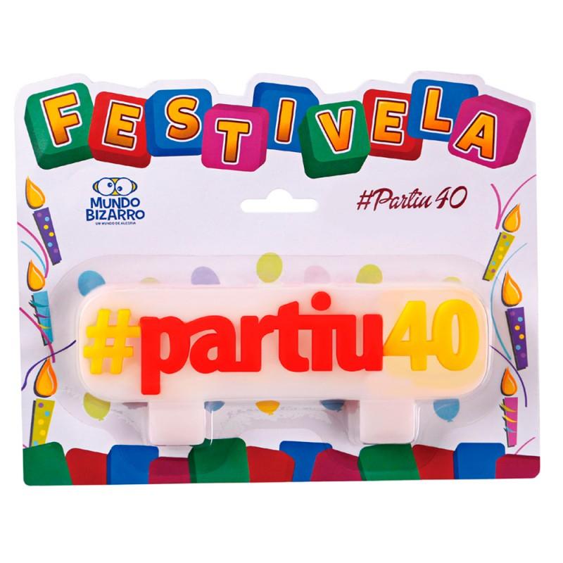 Vela Hashtag: #partiu40 • FESTIVELA