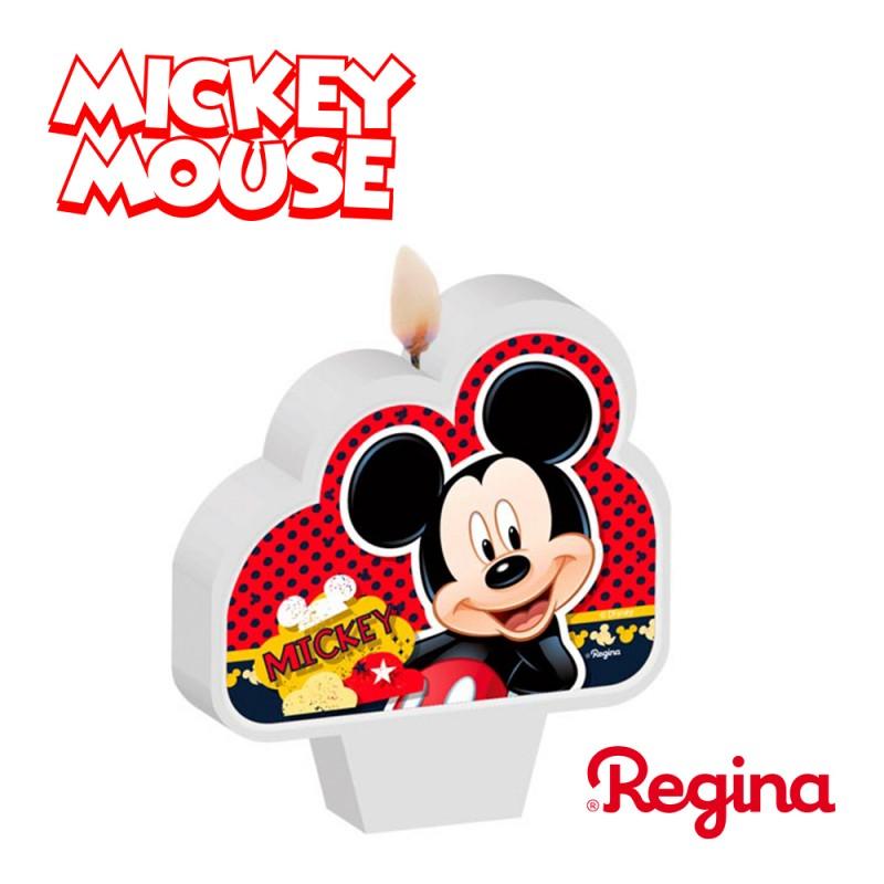 Vela Plana Mickey Mouse