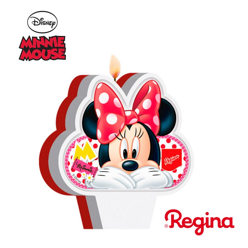 Vela Plana Red Minnie